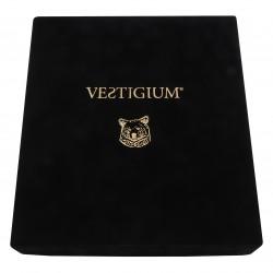 VESTIGIUM® handmade luxury velvet box for bronze bear paw