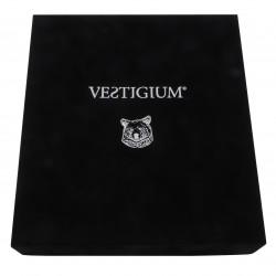 VESTIGIUM® handmade luxury velvet box for ceramic bear paw