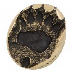 VESTIGIUM® bear paw bronze size 1:1
