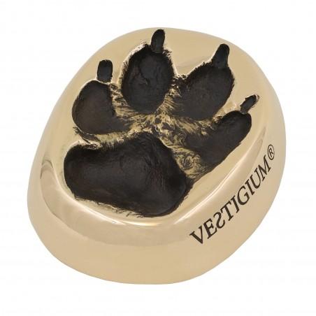 VESTIGIUM® wolf paw bronze size 1:1