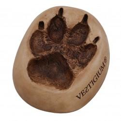 VESTIGIUM® wolf paw ceramic size 1:1