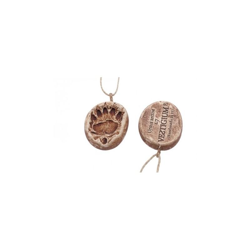 VESTIGIUM® bear paw ceramic pendant