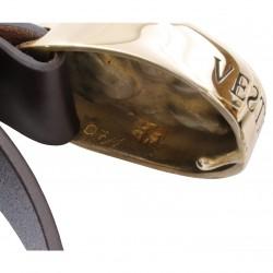 VESTIGIUM® detail brass belt buckle serial number